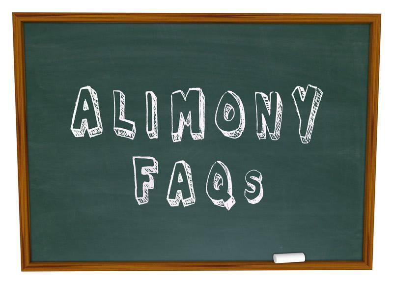 Concerning alimony