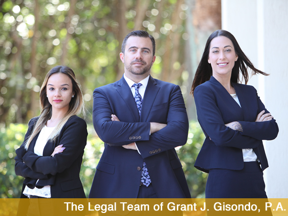 The Legal Team of Grant J. Gisondo, P.A.