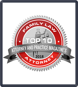 2018 Attorney_and_Practice_Magazine_Family_Law_Badge