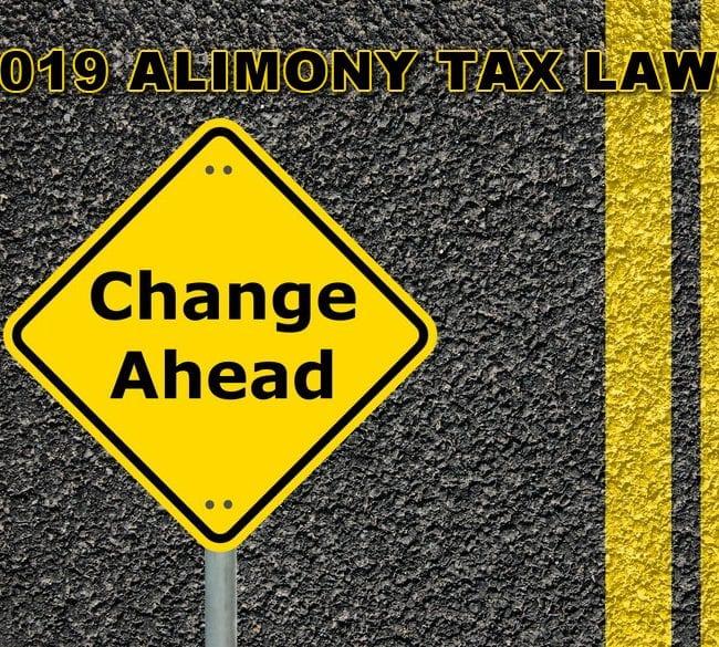 2019 Alimony Tax Laws