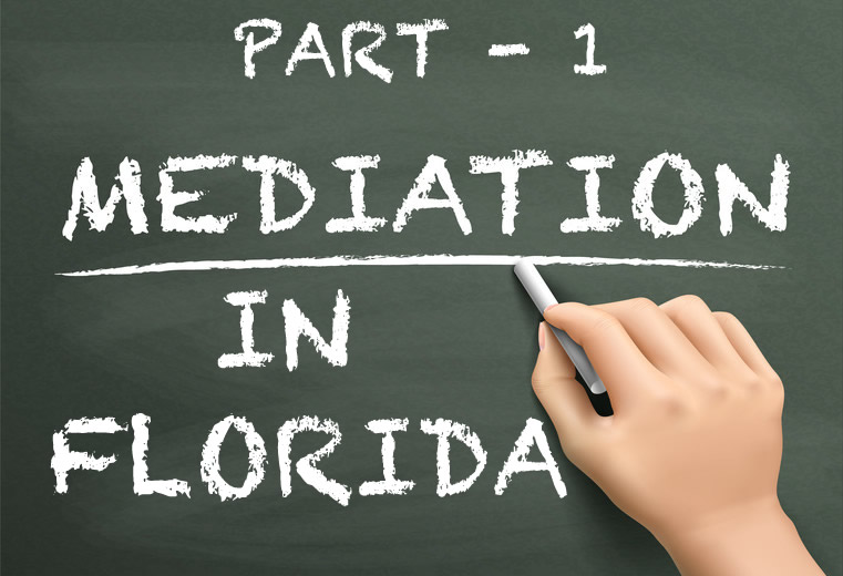 Part 1 - What is mediation and what part does the mediator play