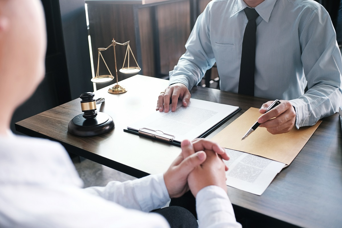 initial consultation with an attorney