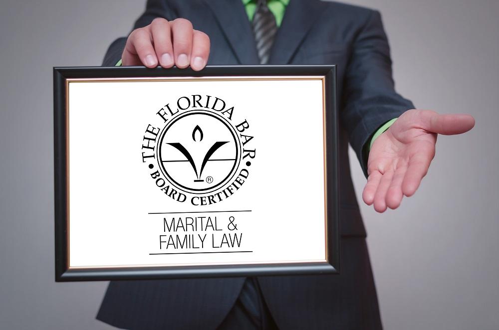Board certified lawyer
